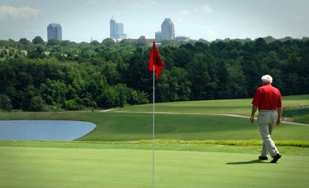 Public Golf Courses in the Triangle Area