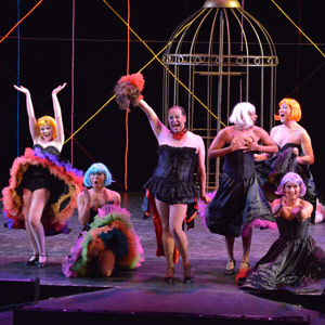 Ensemble in Cabrillo Stage's 'La Cage Aux Folles'