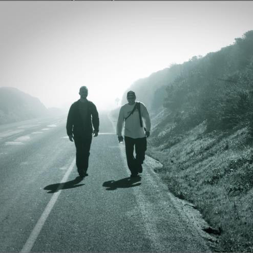 Jake Thomas and Chris Danzer prepare for a journey to bring awareness to hunger in Santa Cruz.