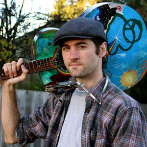 John Craigie's guitar began to evolve when he was a student at UC-Santa Cruz. Photo by Chip Scheuer.