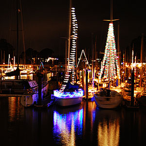 Deck the hulls! The lighted boat parade is Saturday, Dec. 3.