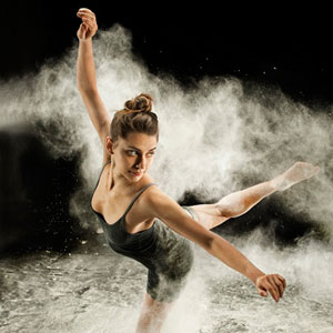 Rachael Bianchi of Flex Dance Company. (Photo by Rosie Chesney)