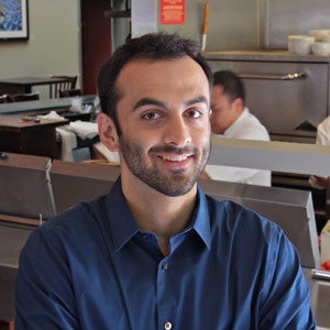 Ali Amin is general manager of Laili, which has brought the flavors of the 'Silk Road' to Santa Cruz.