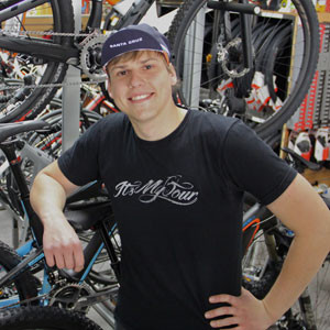 Gene Selkov of Spokesman Bicycles.