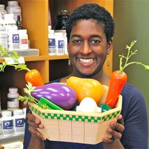 Dietician Jocelyn Dubin of Nourish in Santa Cruz. Photo by Chip Scheuer.