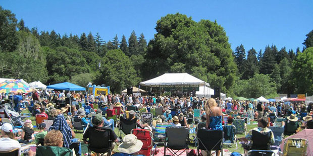 Start the Summer off Right at Redwood Mountain Faire