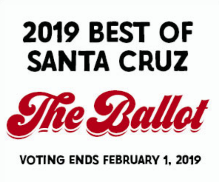Vote Now for The Best Of Santa Cruz
