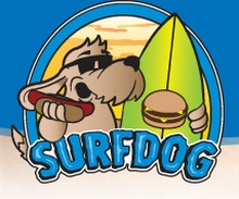 Surfdog Santa Cruz logo