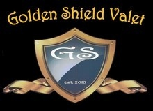Golden Shield Valet logo