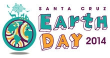 Earth Day Santa Cruz 2014 logo