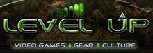 Level Up Video Games logo