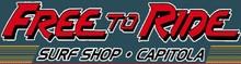 Free to Ride Surf Shop logo