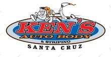 Ken's Auto Body & Striping logo