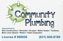 Community Plumbing logo
