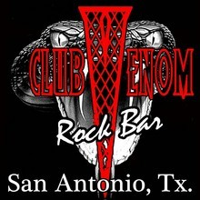 Club Venom Rock Club And Sports Bar logo