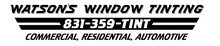 Watson's Window Tinting logo