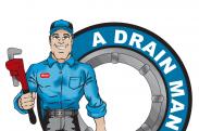 A-Drain-Man Plumbing logo