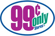 99¢ Only Store logo