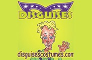 Disguises Costume Rentals logo