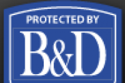 B & D Security logo