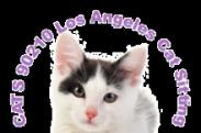 Cats 90210 Los Angeles Cat Sitting logo