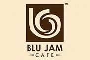 Blu Jam Cafe logo
