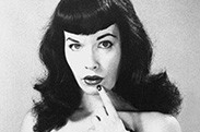 Bettie Page Hollywood logo