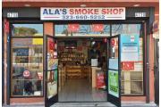 Ala's Smoke Shop logo