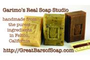 Garimo's Real Soap Studio and Classroom logo