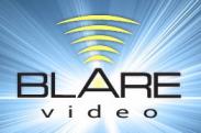 Blare Video logo