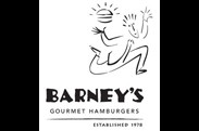 Barneys Gourmet Hamburger Brentwood Country Mart logo