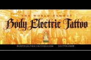 Body Electric Tattoo and Piercing logo