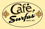 Cafe Surfas logo