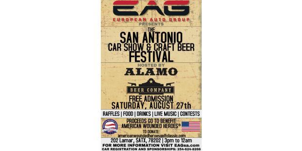 San antonio car show and craft beer festival presented by for Craft beer san antonio