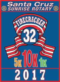 Santa Cruz Firecracker 10K, 5K, Kids 1K