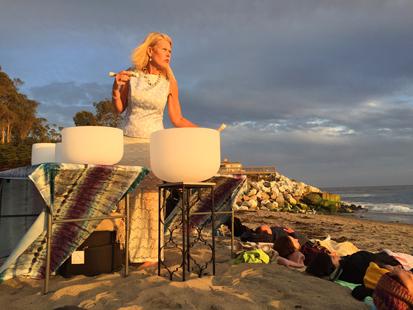 Sunset Beach Bowls and Bonfire
