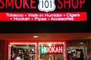 101 Smoke Shop logo
