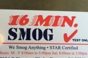 16 Minute Smog logo