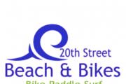 20th Street Beach and Bikes logo
