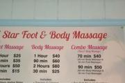 5 Star Foot & Body Massage logo