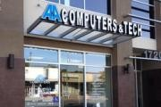A&A Computers and Technology logo