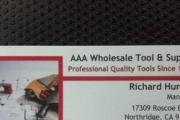 AAA Wholesale Tool & Supply logo