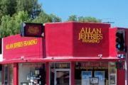 Allan Jeffries Framing logo