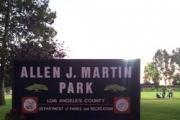 Allen J. Martin Park logo