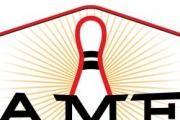 Amf Riverside Lanes logo