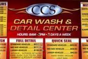 CCS Car Cosmetic Specialist logo