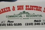 Barker And Son Electric logo