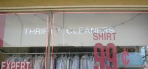 Thrifty Cleaners