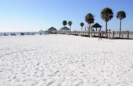 Florida White Sand Beaches