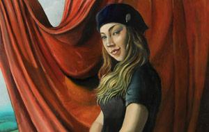 Burt Levitsky's 'Chelsea,' from Santa Cruz Art League's 'All Those Figures' exhibit.